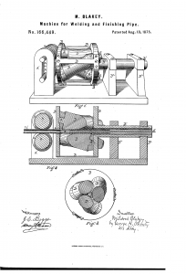 US patent 166449 by Mildred Blakey